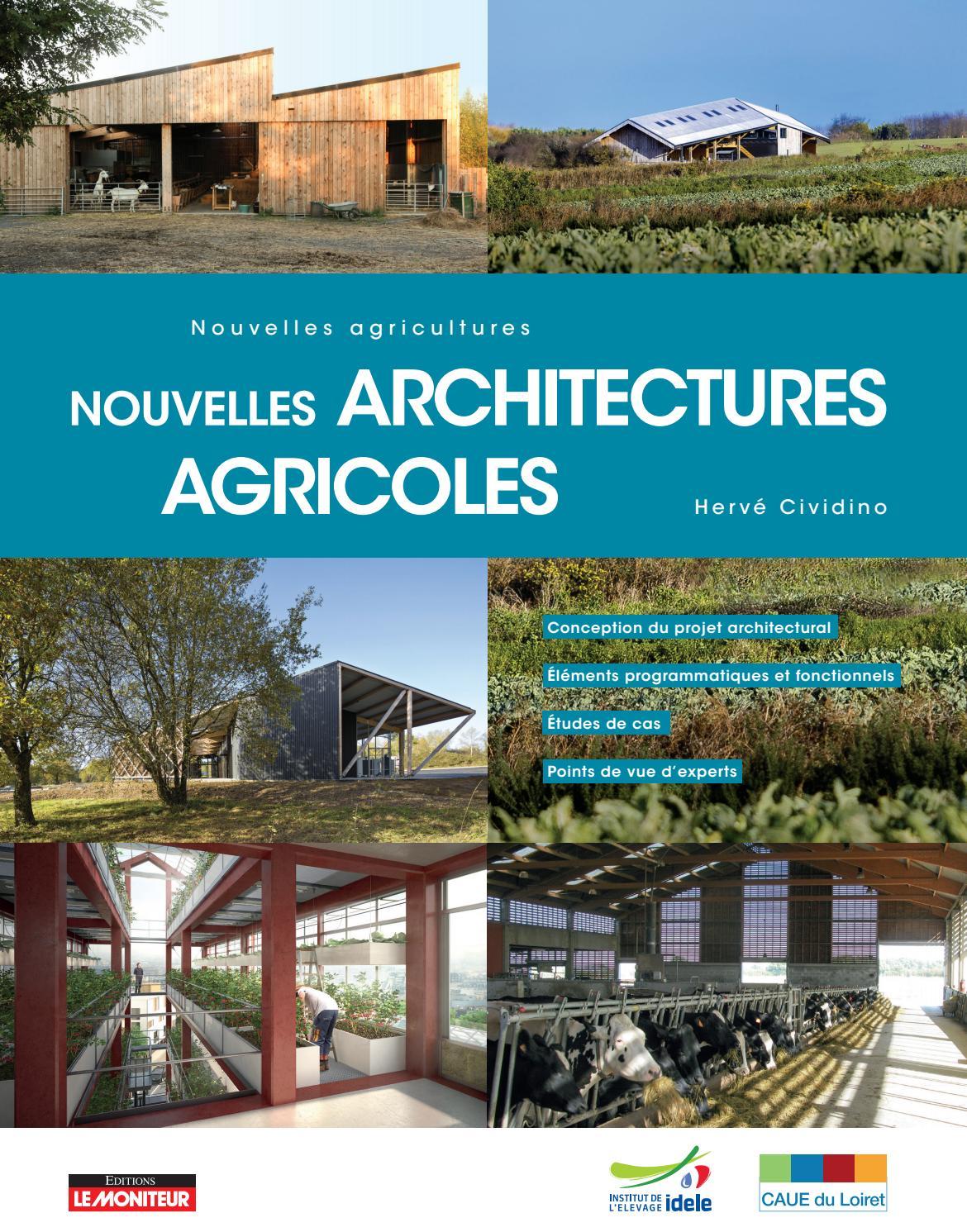Cividino Nouvelles architectures agricoles