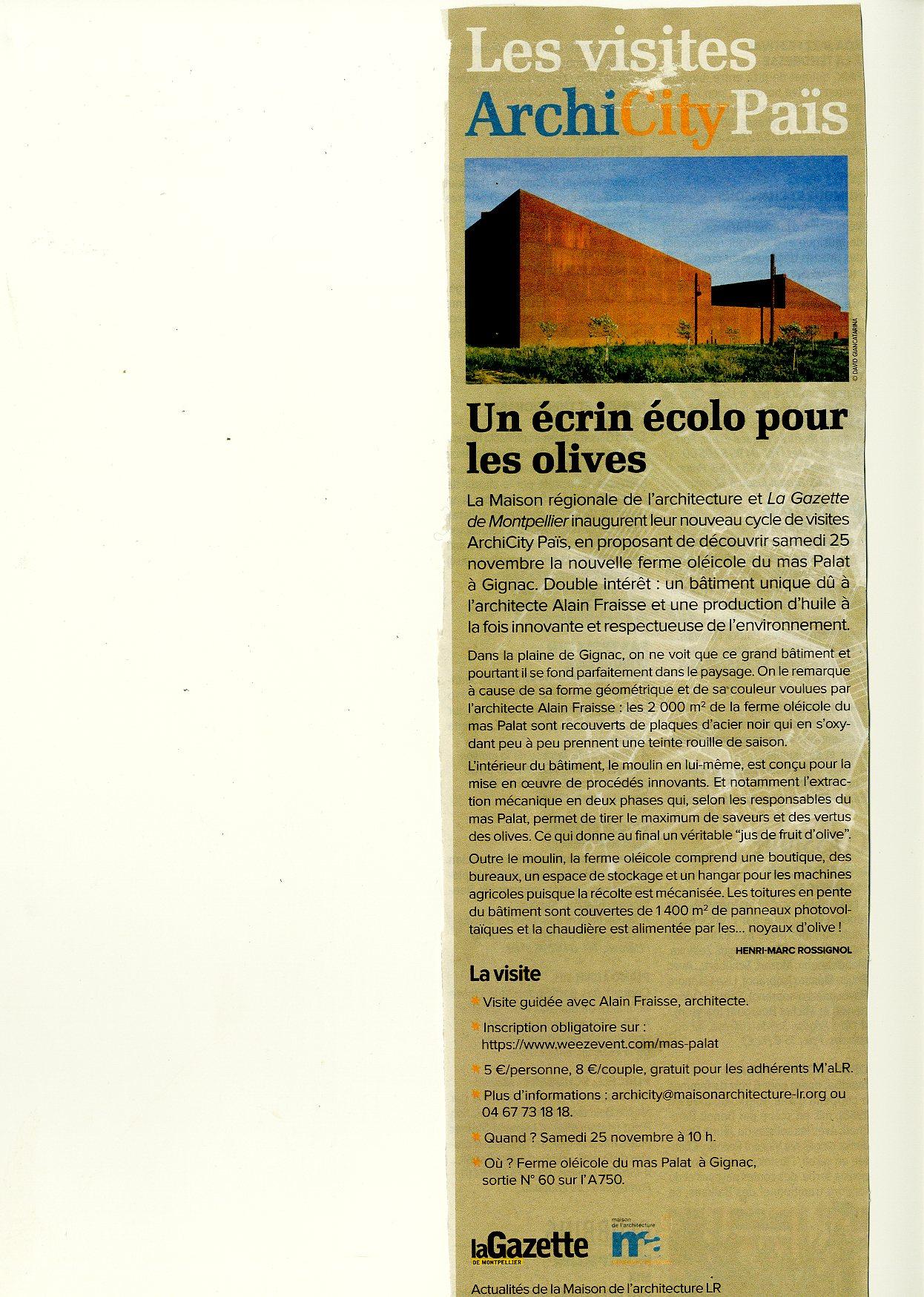 La Gazette de Montpellier Novembre 2017